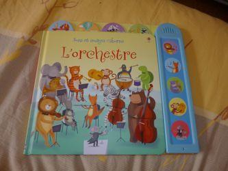 Lorchestre - Usborne - Les lectures de Liyah