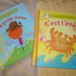 Premières activités manuelles Ferme Ete - Usborne - Les lectures de Liyah