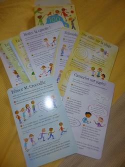 100 jeux pour les vacances 1 - Usborne - Les lectures de Liyah