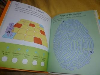 Cahier activités vacances 2 - Usborne - Les lectures de Liyah