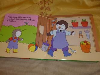 Cherche T'choupi avec Doudou Jardin 1 - Nathan - Les lectures de Liyah