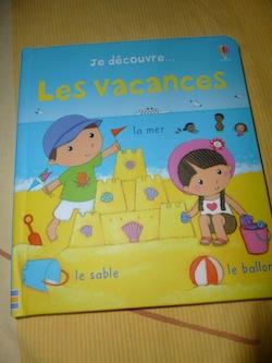 Je découvre les vacances - Usborne - Les lectures de Liyah