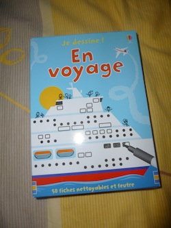 Je dessiner en voyage - Usborne - Les lectures de Liyah