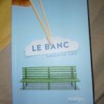 Le banc - Syros - Les lectures de Liyah