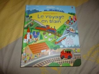 Le voyage en train - Usborne - Les lectures de Liyah