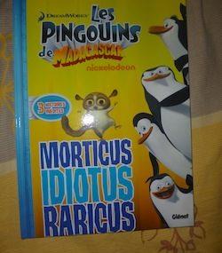 Les Pingouins - Glenat - Les lectures de Liyah