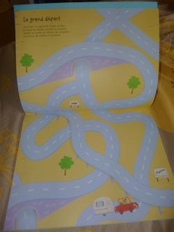 Les vacances autocollants 1 - Usborne - Les lectures de Liyah