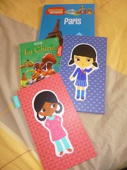 Paris Inde Chine Japon - Les lectures de Liyah