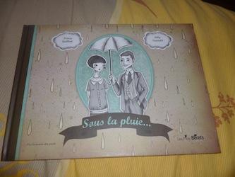 Sous la pluie - Les p'tits berets - Les lectures de Liyah