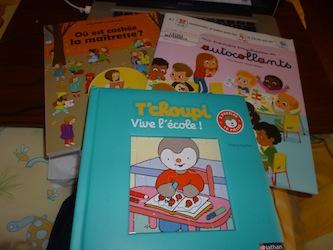 Ecole jeux - Les lectures de Liyah