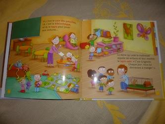L'école maternelle 1 - Milan - Les lectures de Liyah