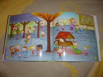 L'école maternelle 2 - Milan - Les lectures de Liyah