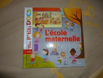 L'école maternelle - Milan - Les lectures de Liyah