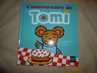 L'anniversaire de Tomi - Hatier - Les lectures de Liyah