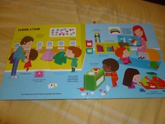 L'ecole maternelle 2 - Tourbillon - Les lectures de Liyah