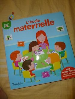 L'ecole maternelle - Tourbillon - Les lectures de Liyah