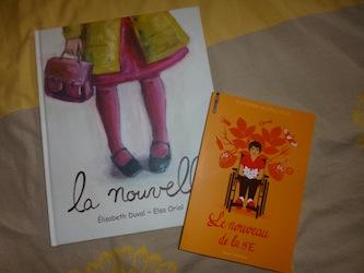 Nouveau ecole - Les lectures de Liyah