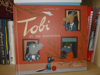 Tobi et les souvenirs - Tourbillon - Les lectures de Liyah