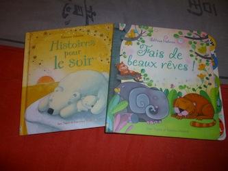 Histoires dodo - Usborne - Les lectures de Liyah