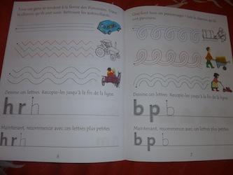 J'apprends l'alphabet 1 - Usborne - Les lectures de Liyah