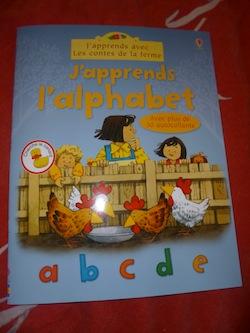 J'apprends l'alphabet - Usborne - Les lectures de Liyah