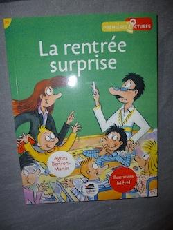 La rentrée surprise - Oskar - Les lectures de Liyah