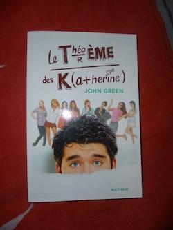 Le théoreme des Katherine - Nathan - Les lectures de Liyah