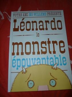 Leonardo le monstre epouvantable - Kaleidoscope - Les lectures de Liyah