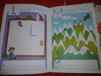 Lettres majuscules - Lito - Les lectures de Liyah
