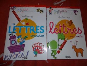 Lettres majuscules minuscules - Lito - Les lectures de Liyah