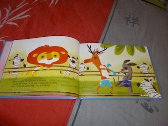 L'histoire du lion qui ne savait pas compter 2 - Glenat - Les lectures de Liyah