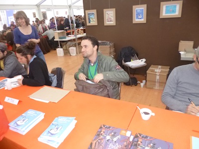 Salon du Livre sur la place - Mr Tan - Nancy