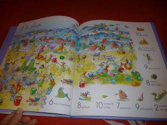 1001 choses de monstre à trouver 2 - Usborne - Les lectures de Liyah