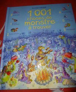 1001 choses de monstre à trouver - Usborne - Les lectures de Liyah