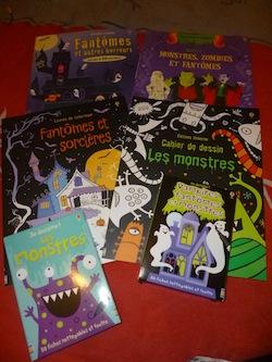 Cahiers halloween - Usborne - Les lectures de Liyah