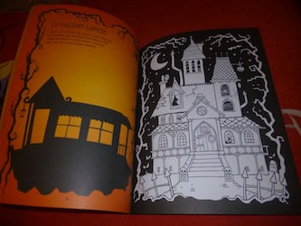 Coloriages fantome 1 - Usborne - Les lectures de Liyah