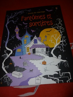 Coloriages fantome - Usborne - Les lectures de Liyah
