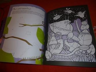 Dessins monstres 1 - Usborne - Les lectures de Liyah