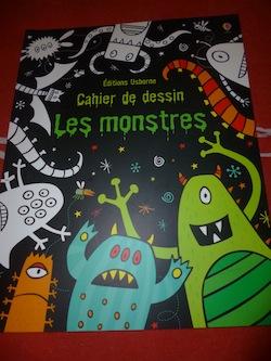 Dessins monstres - Usborne - Les lectures de Liyah