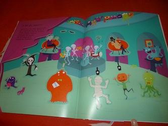 Fantomes autocollants 1 - Usborne - Les lectures de Liyah