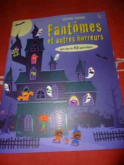 Fantomes autocollants - Usborne - Les lectures de Liyah