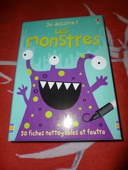 Fiches monstres - Usborne - Les lectures de Liyah