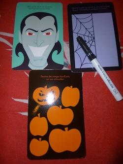 Fiches vampires fantomes et monstres 1 - Usborne - Les lectures de Liyah