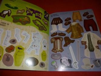 Habille monstres 3 - Usborne - Les lectures de Liyah