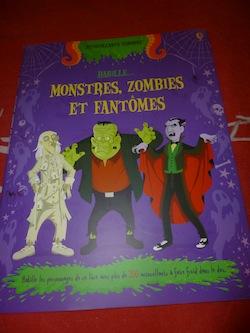 Habille monstres - Usborne - Les lectures de Liyah