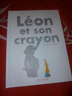 Léon et son crayon - Seuil - Les lectures de Liyah