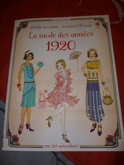 La mode des années 1920 - Usborne - Les lectures de Liyah