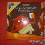 Le gros monstre qui aimait trop lire - Dominique et Compagnie - Les lectures de Liyah