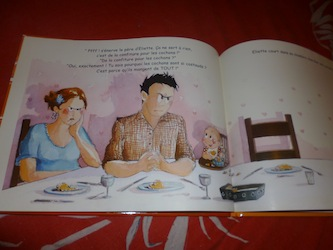 Melle princesse ne veut pas manger 1 - Kaleidoscope - Les lectures de Liyah
