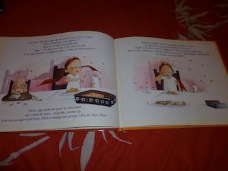 Melle princesse ne veut pas manger 2 - Kaleidoscope - Les lectures de Liyah